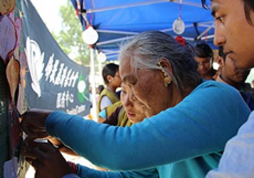 2015 NEPAL QUAKE Humanitarian Aid from Tzu Chi Foundation