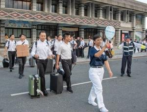 0921 火車站迎接學員